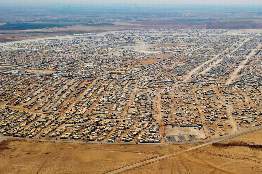 Flyktingläger i Jordanien